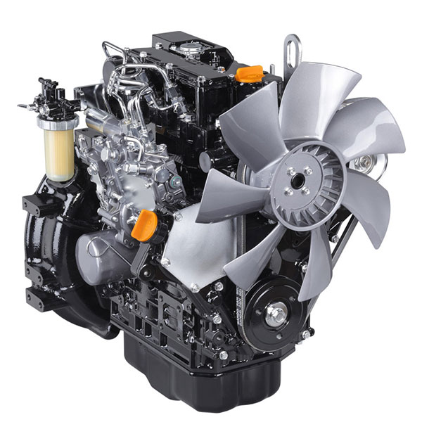 water cooled engines by YANMAR