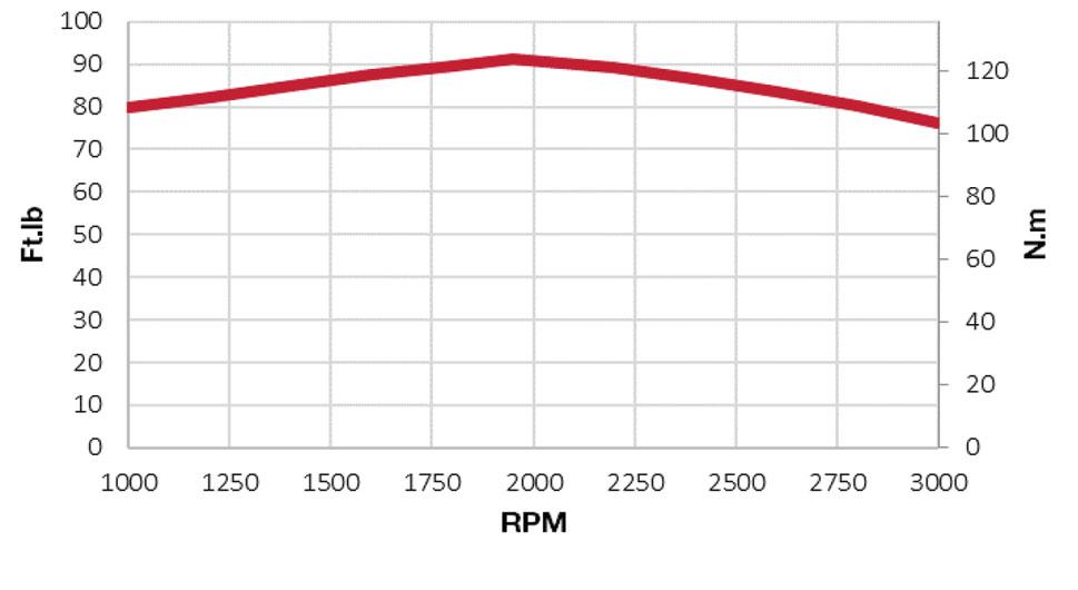 3TNV86CT-DYEM torque chart
